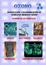 Oferta servicio de desinfección y eliminación de olores en vehiculo